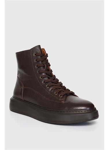 Lufian Greıge Süet Casual Ayakkabı Kahverengi Kahve
